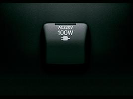 Salida de 220v (100w).