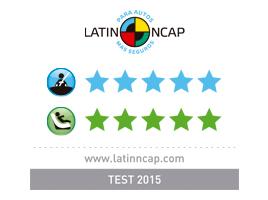 LATIN NCAP: La nueva Toyota Hilux ha sido sometida a las pruebas de choque de Latin NCAP, obteniendo el máximo resultado: 5 estrellas en protección, tanto para adultos como para niños.