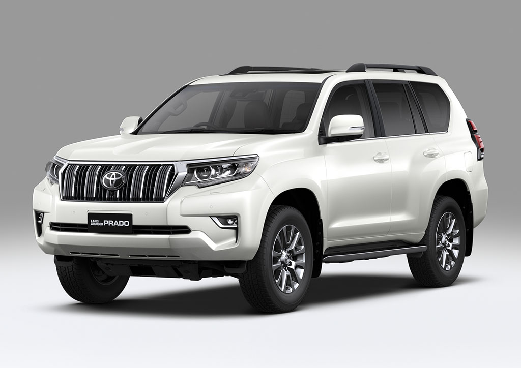 Land Cruiser Prado Blanco Perlado