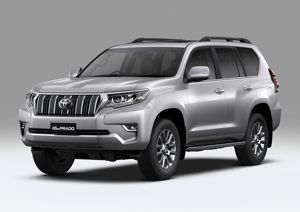 Land Cruiser Prado Plata Metalizado