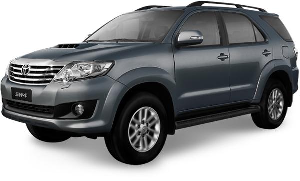 Toyota SW4 - Gris Oscuro Metálico [1E9]
