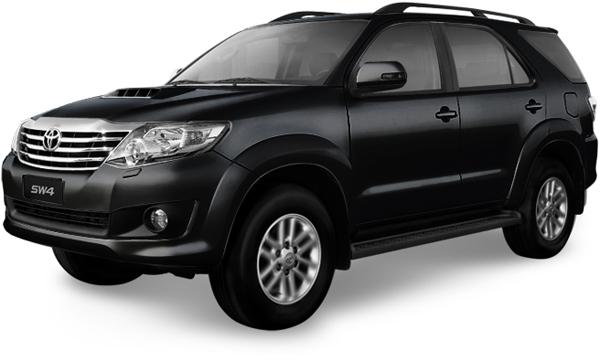 Toyota SW4 - Negro [209]