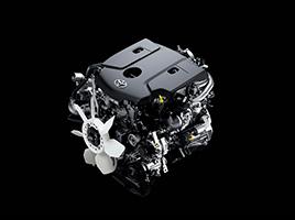 Motor Toyota 1GD (2.8L).