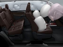 7 Airbags y Anclajes ISOFIX.