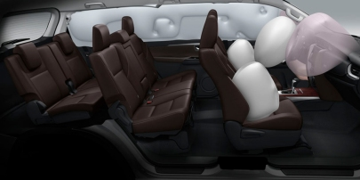 Toyota SW4 Airbags