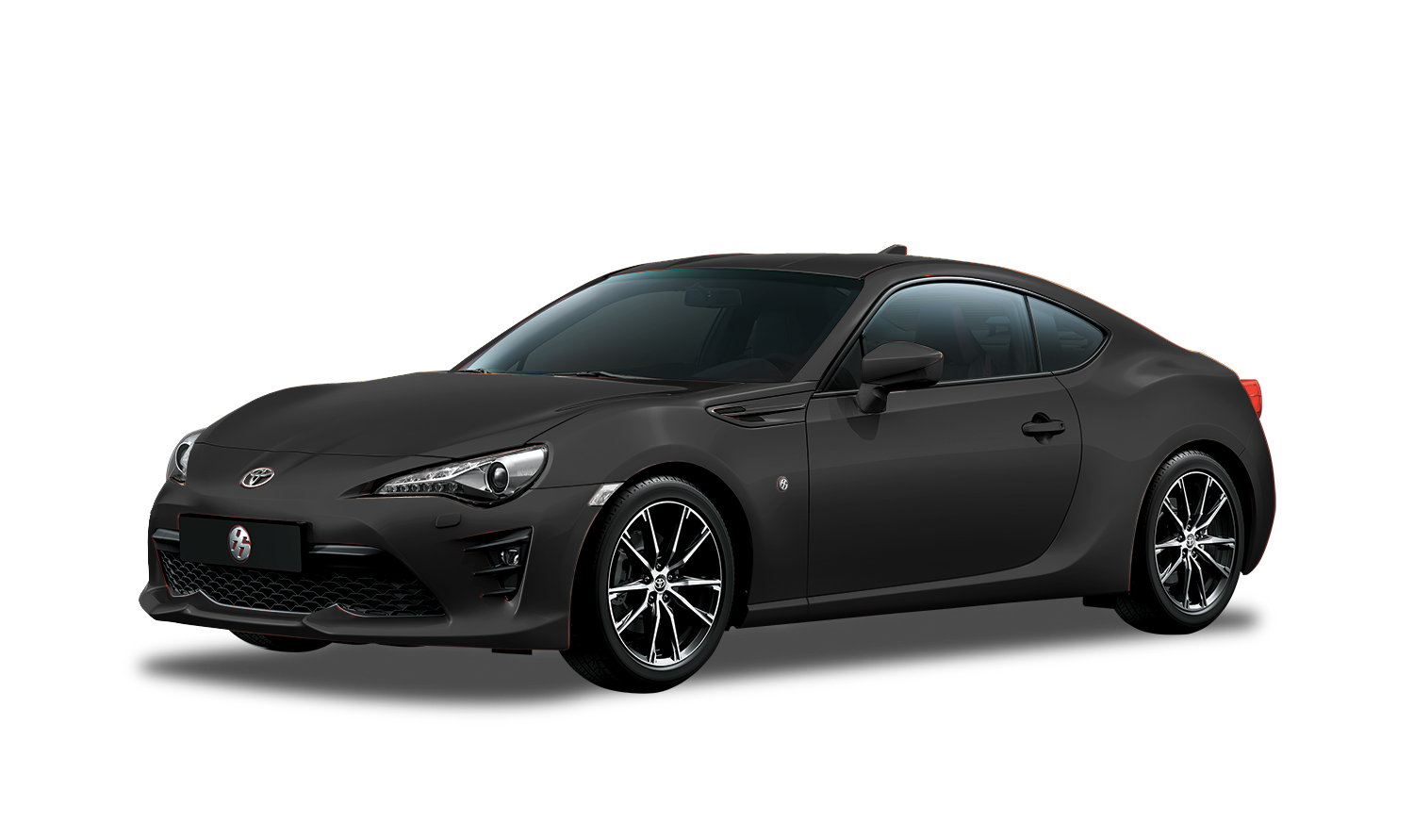 Toyota 86 Gris Obscuro