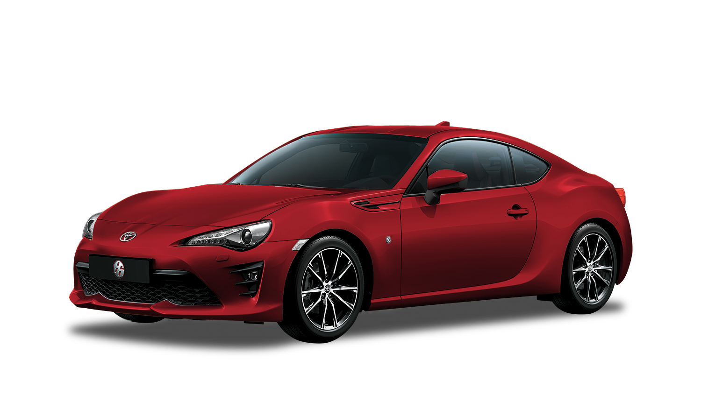 Toyota 86 Rojo Metálico