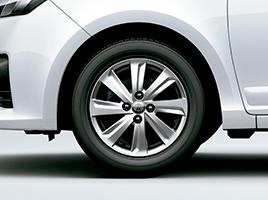 Llantas de aleación 15''. Neumáticos 185/60 R15