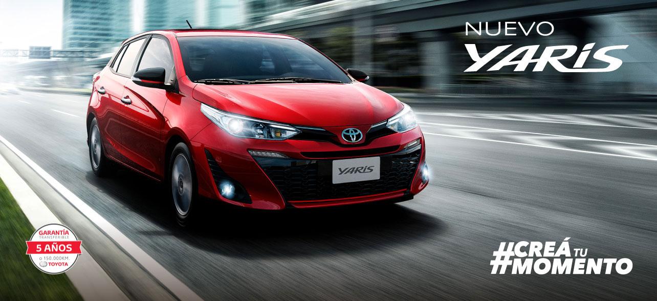 Toyota Yaris Hatchback Creá tu momento
