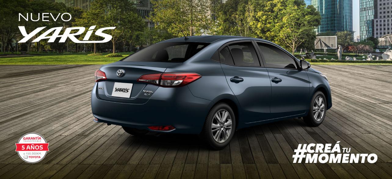 Toyota Yaris Sedan Creá tu momento