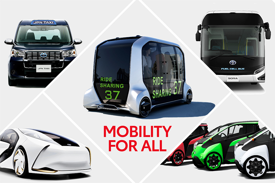 Toyota llevará sus últimas tecnologías y el Toyota…