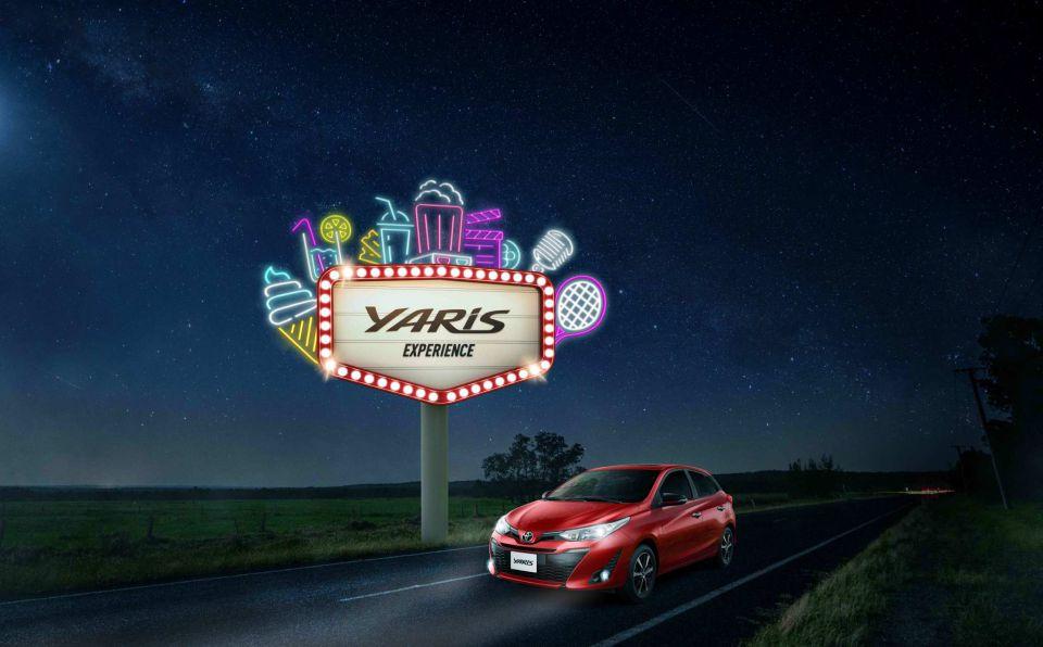 """En abril, la """"Yaris Experience"""" de Toyota llega…"""