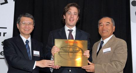 Toyota premió el desempeño de sus proveedores.