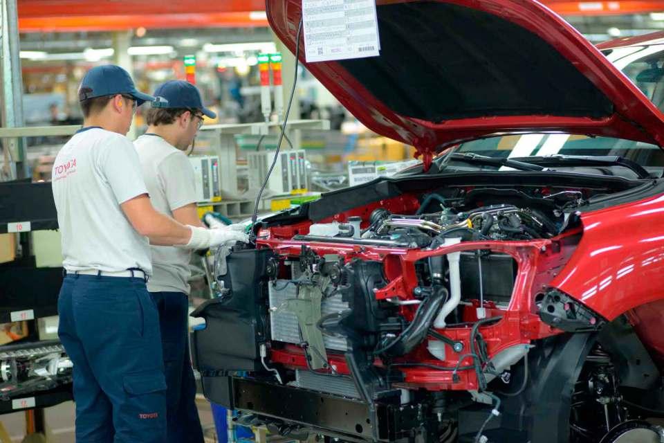 Toyota aumentará el volumen de producción de su planta…