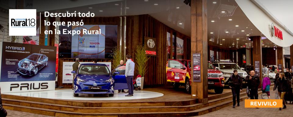 Toyota junto al campo en la 132° Exposición Rural