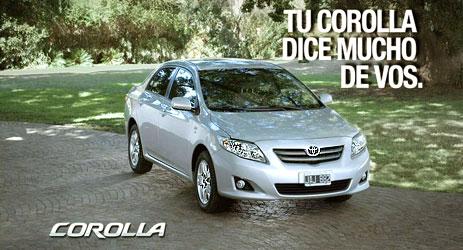 TOYOTA Lanzó nueva campaña publicitaria para Corolla.