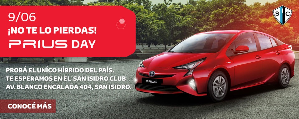 Prius Day 9 de Junio en el San Isidro Club.