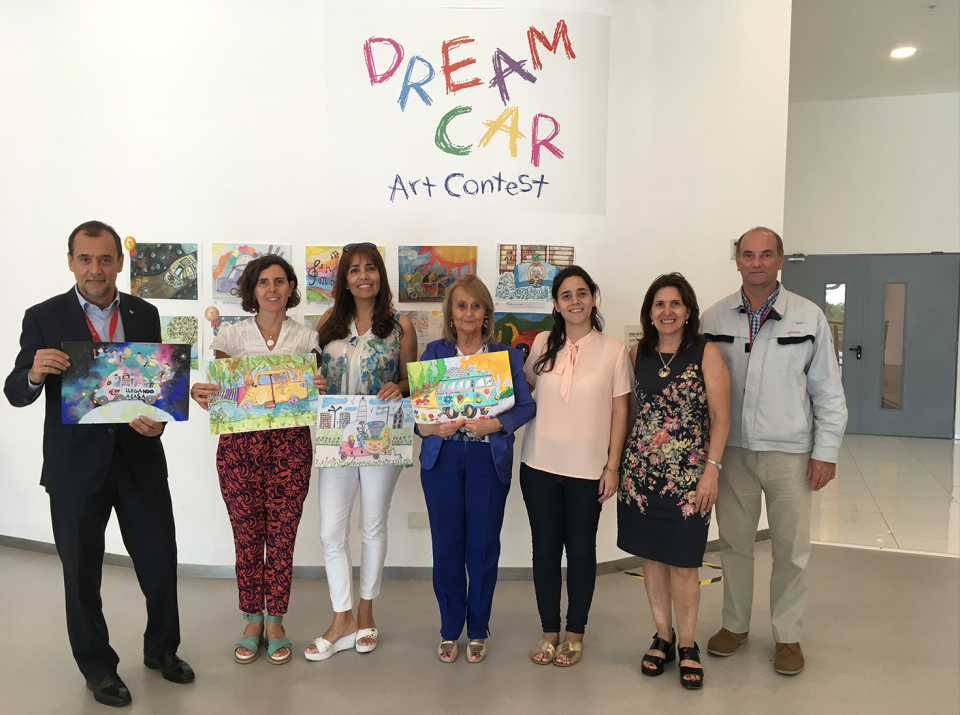La edición intercolegial del Dream Car Art Contest…