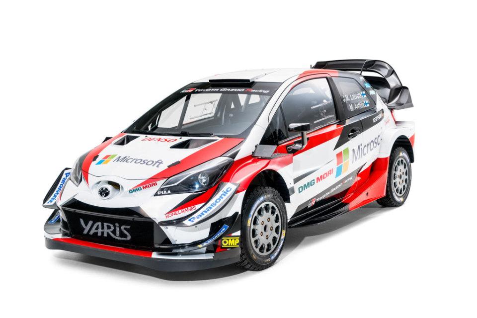 TOYOTA GAZOO Racing presenta el Yaris WRC para la temporada…