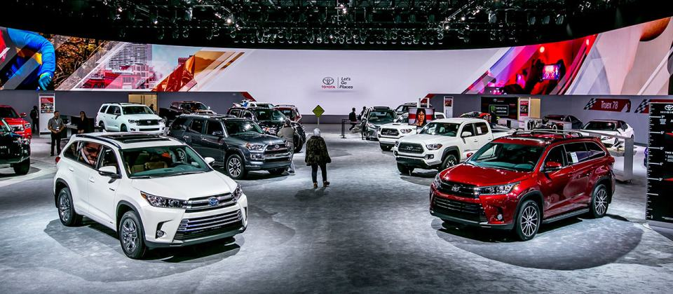 Toyota en el North American International Auto Show…
