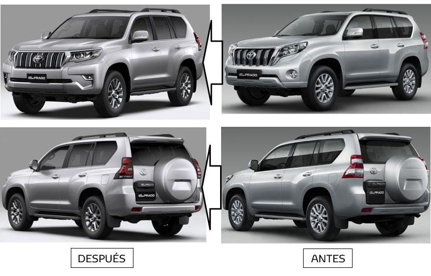 Toyota actualiza su modelo Land Cruiser Prado