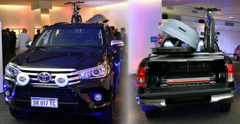Toyota amplía su línea de accesorios…