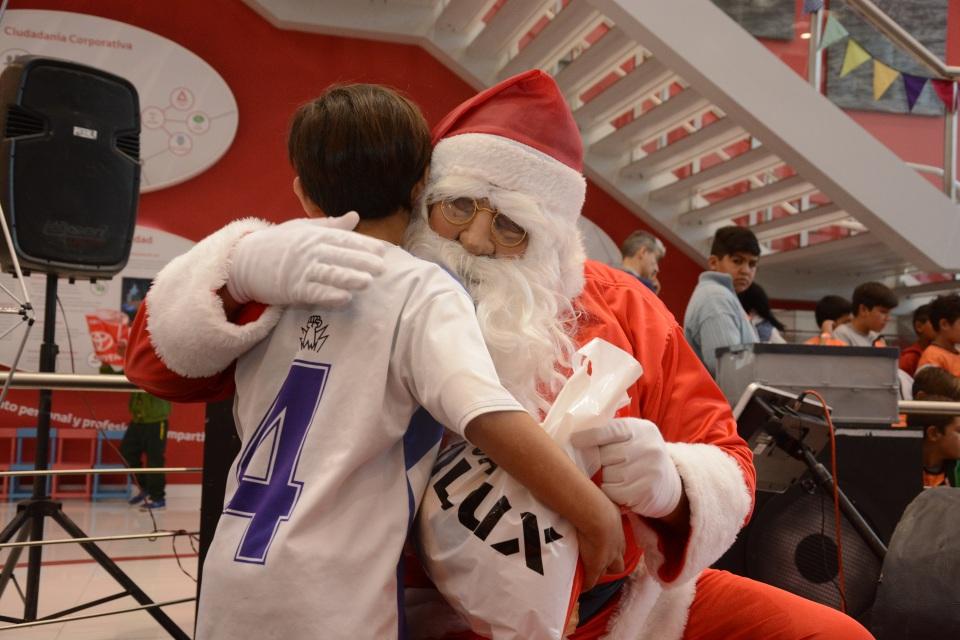 Toyota celebró la Navidad con la comunidad de Zárate