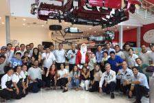 Toyota festejó la Navidad con los chicos de Zárate…