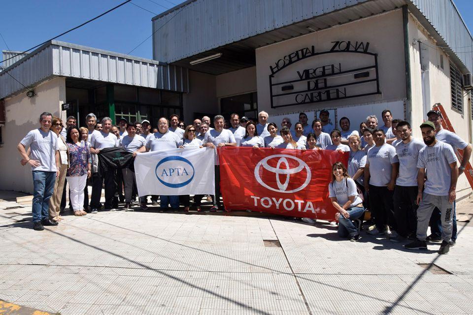 Toyota junto a sus proveedores y SMATA donaron equipamiento…
