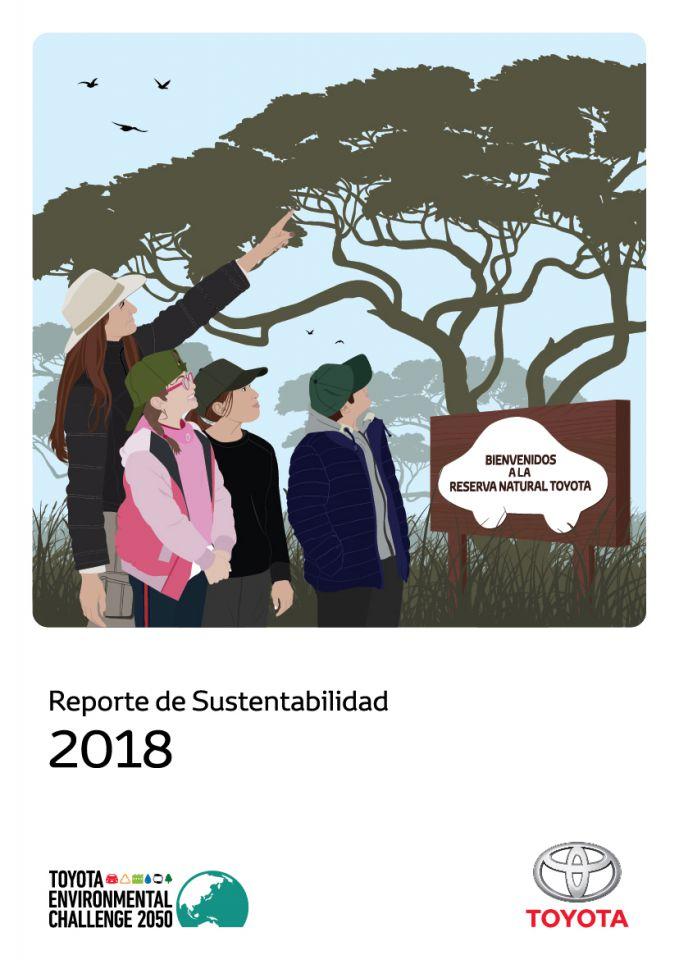 Toyota presentó su Reporte de Sustentabilidad 2018.