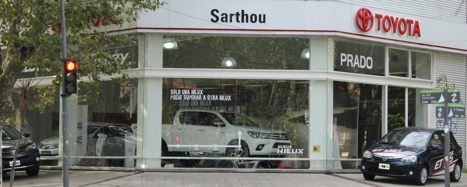 Toyota - Concesionario Sarthou