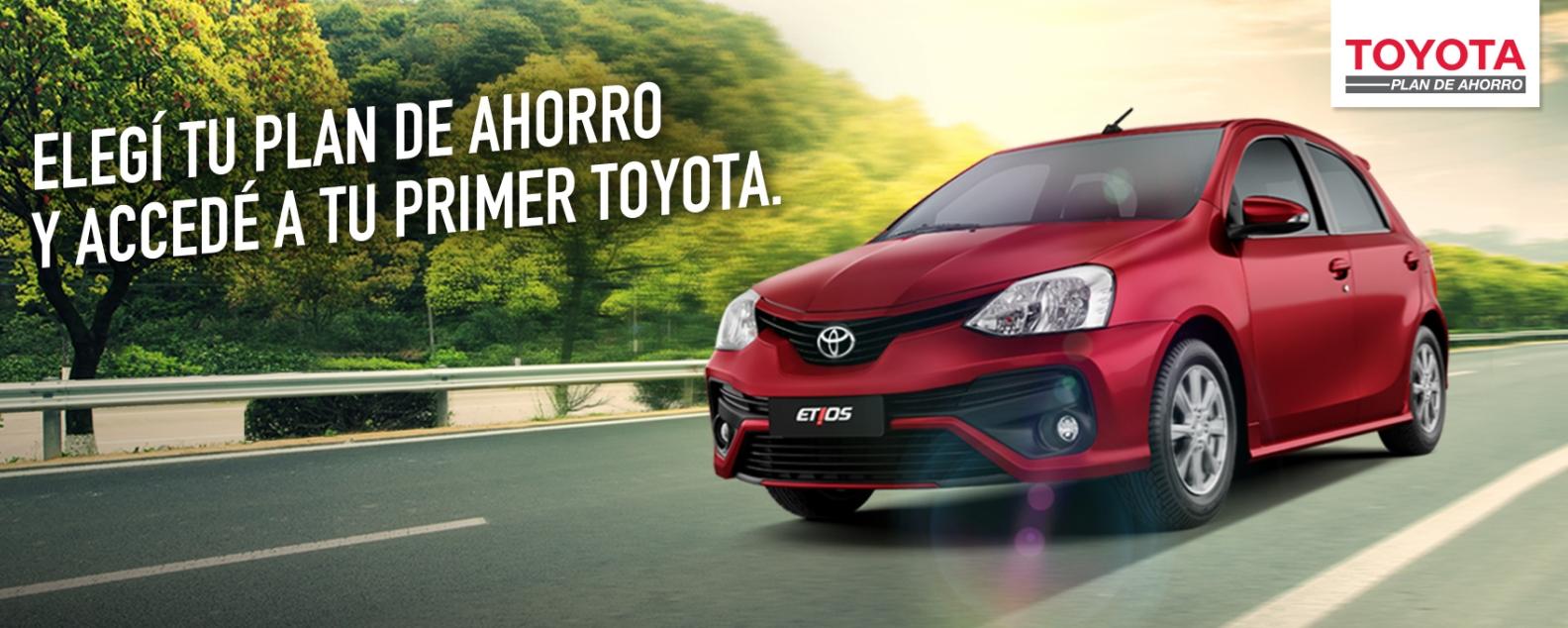 Toyota Etios 2017 Plan de Ahorro